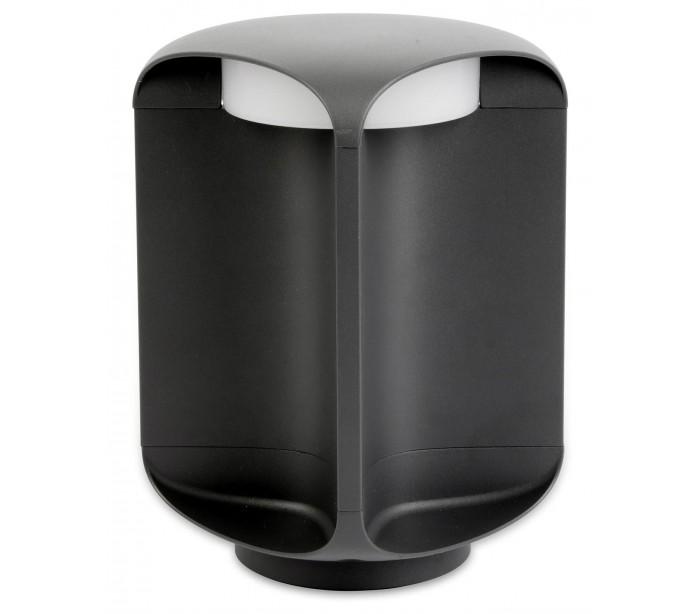 Image of   BU-OH havelampe H26,5 cm 1 x SMD LED 12W - Mørkegrå