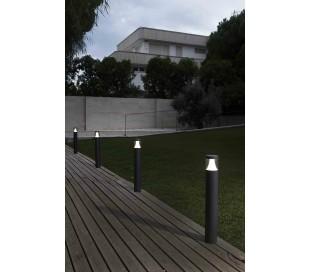 Plim havelampe H65 cm 1 x SMD LED 10W - Mørkegrå