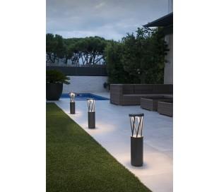 Twist havelampe H65 cm 1 x SMD LED 10W - Mørkegrå
