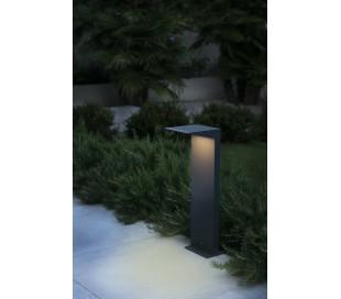 Soleil havelampe H51 cm 1 x Solar LED 2W - Mørkegrå