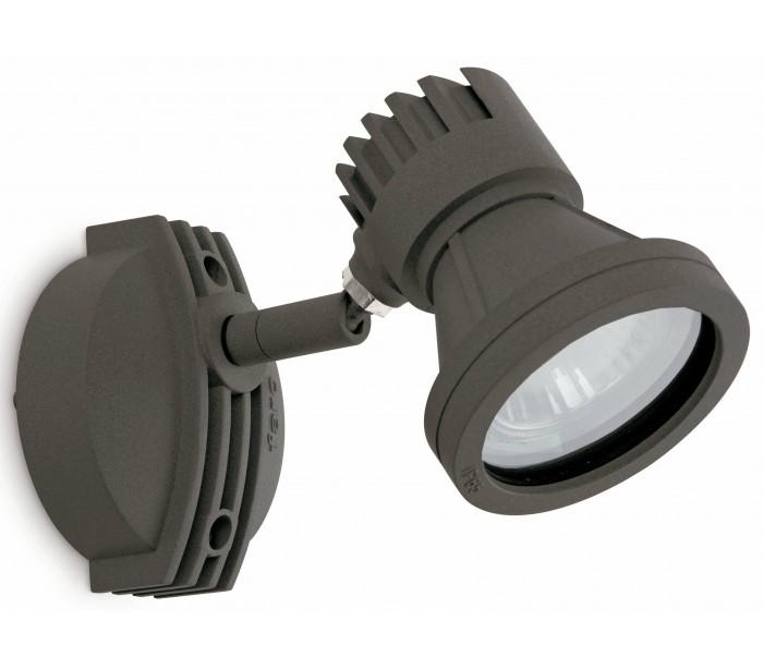 faro barcelona Miniproject spot væglampe 1 x gu10 - mørkegrå fra lepong.dk
