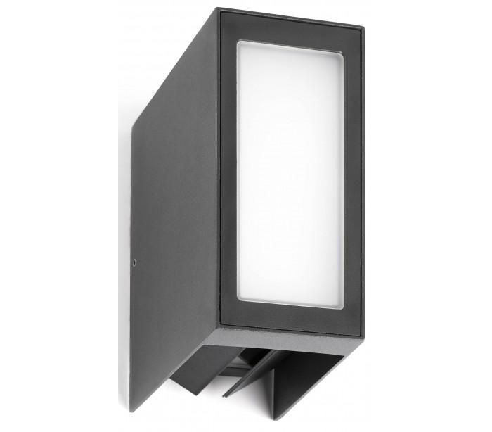 faro barcelona – Loc væglampe 1 x smd led 9w - mørkegrå på lepong.dk