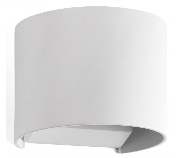 faro barcelona Sunset væglampe 2 x cree led 3w - hvid på lepong.dk