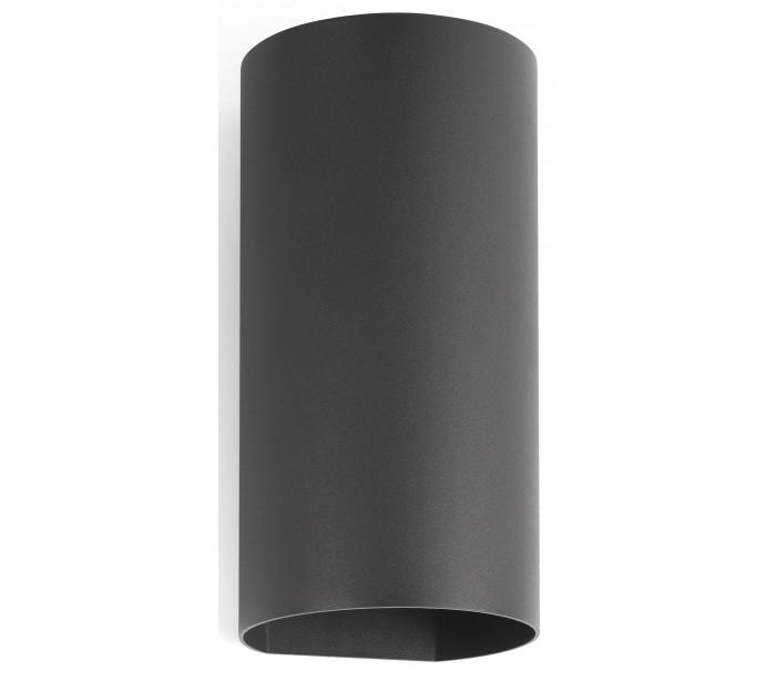 Image of   Bruc væglampe 2 x CREE LED 6,5W - Mørkegrå