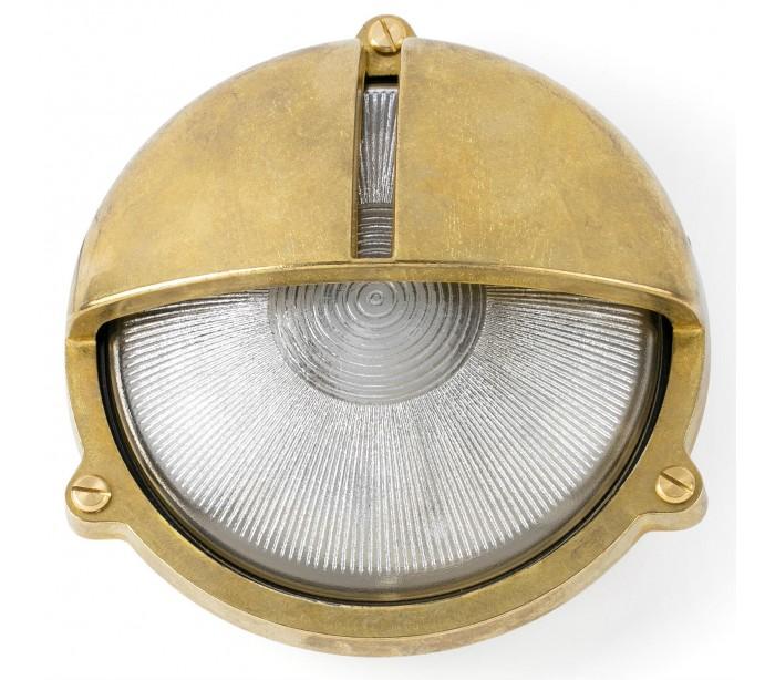 faro barcelona – Timon væglampe ø22,5 cm 1 x e27 - antik messing på lepong.dk