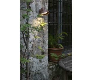Bronx væglampe 1 x GU10 - Brun