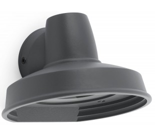Bronx væglampe 1 x GU10 - Mørkegrå