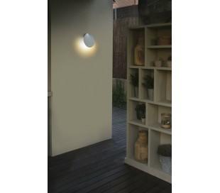Lotus væglampe 1 x COB LED 18W - Hvid