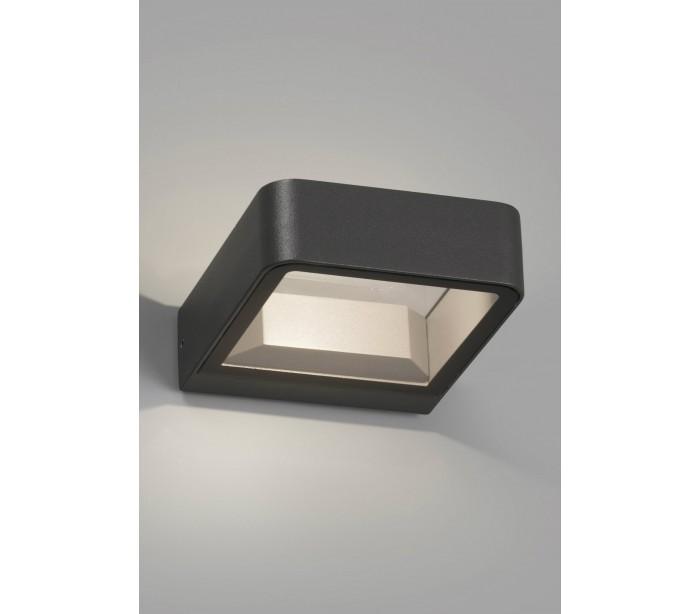 Image of   Axel væglampe 1 x COB LED 6W - Mørkegrå