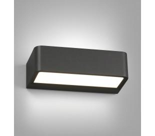 Takua væglampe 1 x SMD LED 10W - Mørkegrå