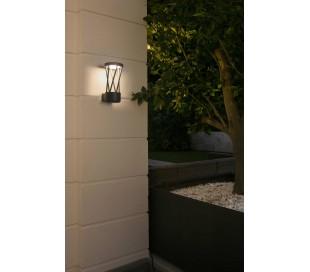Twist væglampe 1 x SMD LED 10W - Mørkegrå