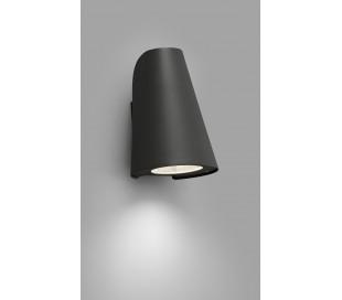 Tinia væglampe 1 x E27 - Mørkegrå