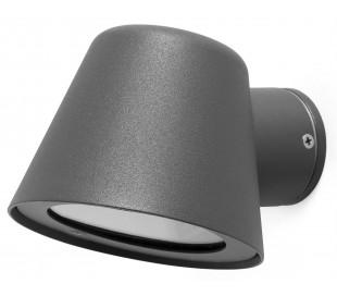 Gina udendørs væglampe 1 x GU10 - Mørkegrå