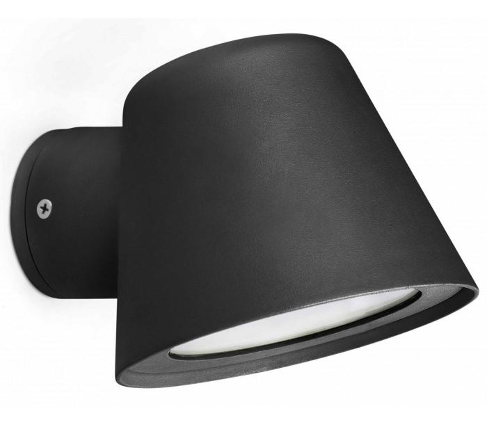 Gina udendørs væglampe 1 x GU10 - Sort