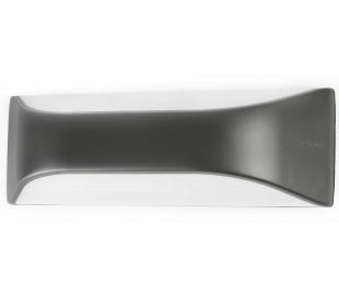 View væglampe B29 cm 1 x E27 - Mørkegrå