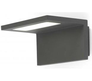 Ele væglampe 1 x SMD LED 6W - Mørkegrå