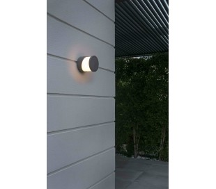 Block væglampe 1 x E27 - Betongrå