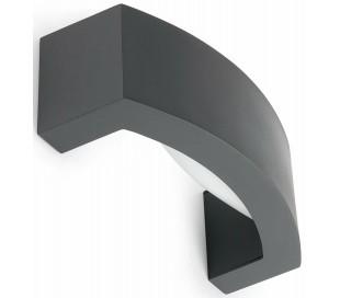 Ancora væglampe B26,4 cm 1 x E27 - Mørkegrå
