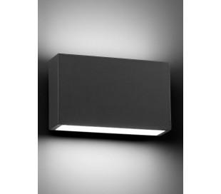 Tane væglampe 1 x SMD LED 6W - Mørkegrå