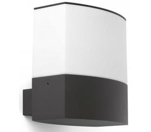 Datna væglampe H19,6 cm 1 x E27 - Mørkegrå