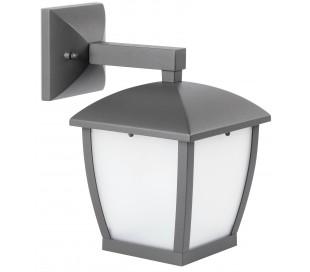 Wilma væglampe H28 cm 1 x E27 - Mørkegrå