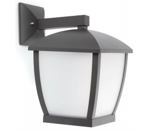 Wilma væglampe H32 cm 1 x E27 - Mørkegrå