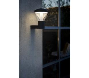 Shelby væglampe 1 x SMD LED 10W - Mørkegrå