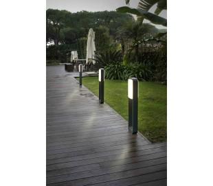 Sticker havelampe H72 cm 1 x SMD LED 10W - Mørkegrå