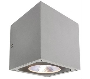 Cubodo II up-down væglampe 14W LED - Grå