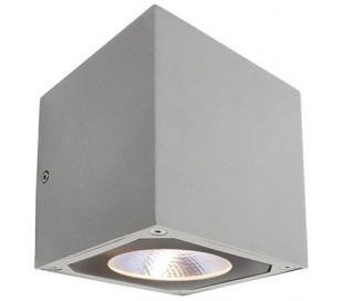 Cubodo II single væglampe 7W LED - Grå