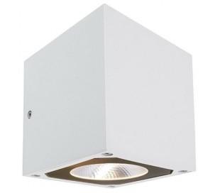Cubodo II single væglampe 7W LED - Hvid