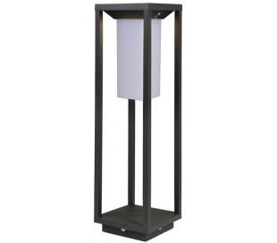 Samas havelampe med sensor H50 cm 1 x Solar LED 2,2W - Mørkegrå