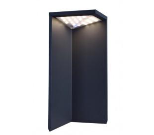 Lugh havelampe H34 cm 1 x Solar LED 2,2W - Mørkegrå