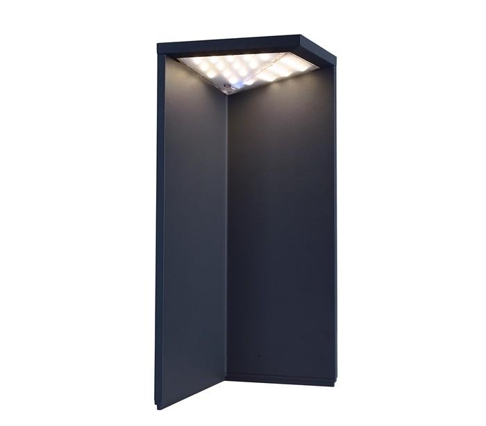 selected by lepong – Lugh havelampe h34 cm 1 x solar led 2,2w - mørkegrå fra lepong.dk