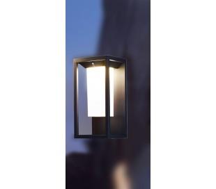 Samas væglampe med sensor H29 cm 1 x Solar LED 2,2W - Mørkegrå