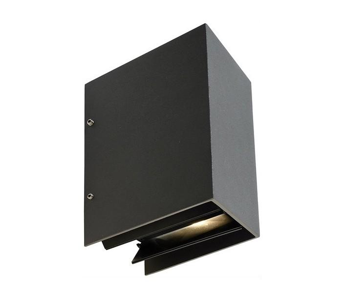 deko light – Arcturus i væglampe 5,5w led h17,2 cm - antracit på lepong.dk