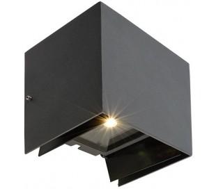 Arcturus II væglampe 5,5W LED H14,5 cm - Antracit
