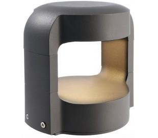 Antliae bedlampe 12W LED H15 cm - Antracit