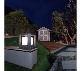 Bootis II bedlampe 20W LED H27 cm - Antracit