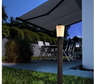 Bessma II bedlampe 9W LED H50 cm - Antracit
