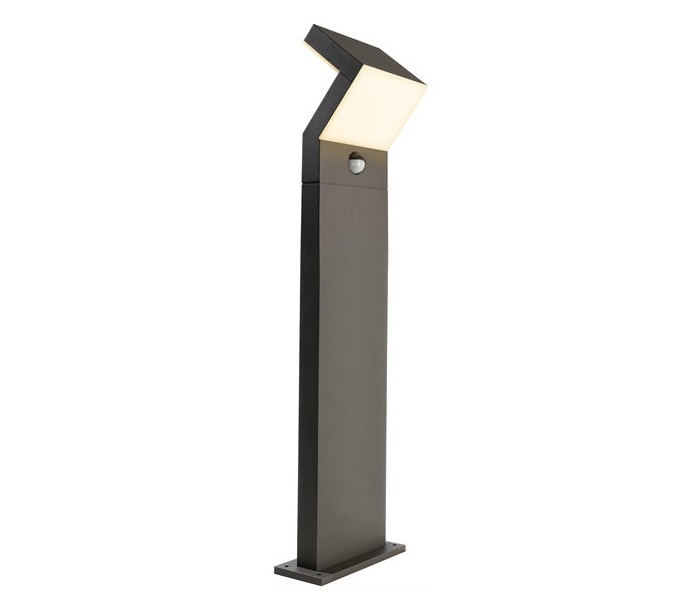 Taygeta bedlampe med sensor 16w led h100 cm - antracit fra deko light på lepong.dk