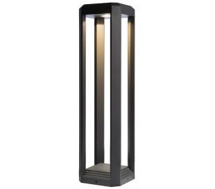 Rukbat bedlampe 12,5W LED H50 cm - Antracit