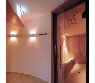 Osano II væglampe 1 x 25W G9 B15 cm - Betongrå