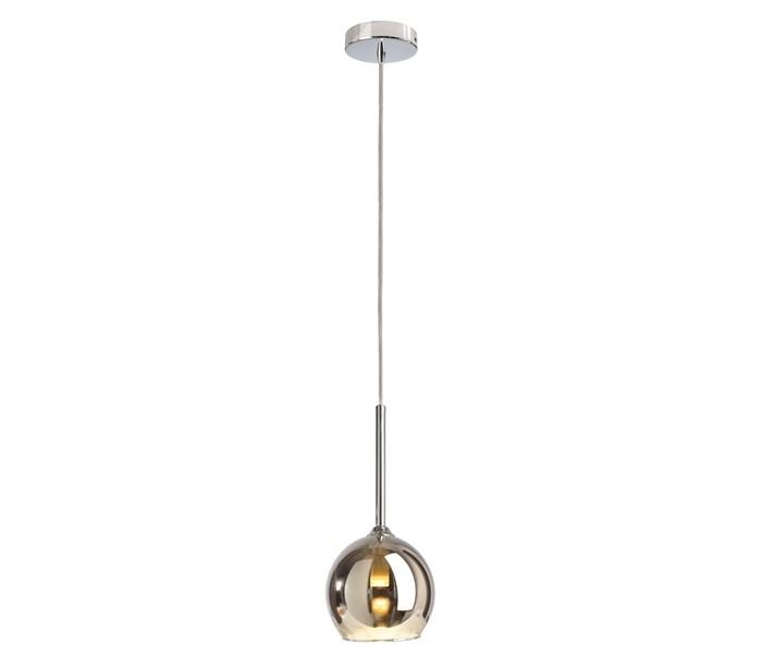 deko light Bunda loftlampe i glas 1 x g9 ø13,5 cm - sølv fra lepong.dk