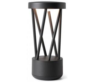 Twist havelampe H30,2 cm 1 x SMD LED 10W - Mørkegrå