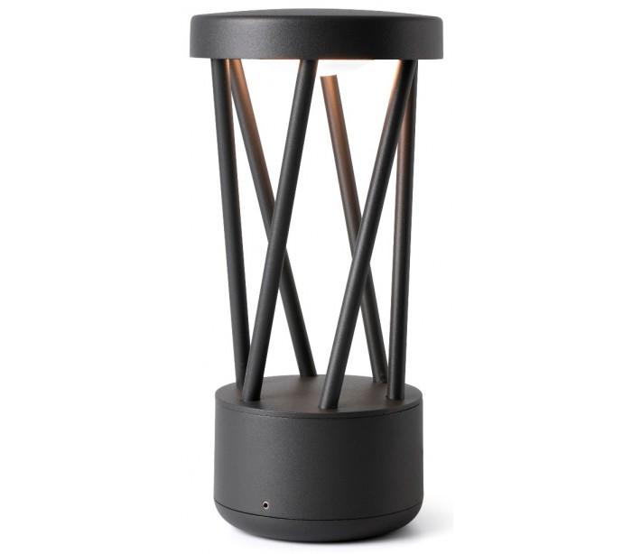 faro barcelona Twist havelampe h30,2 cm 1 x smd led 10w - mørkegrå på lepong.dk