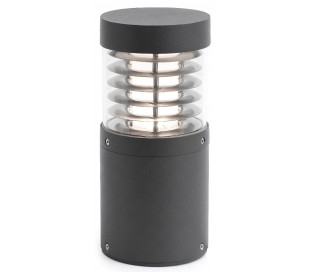 Giza havelampe H26,5 cm 1 x COB LED 15W - Mørkegrå