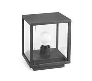 Nala havelampe H22 cm 1 x E27 - Mørkegrå