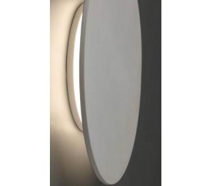 Væglampe rund Ø20 cm 1 x LED 5W - Hvid
