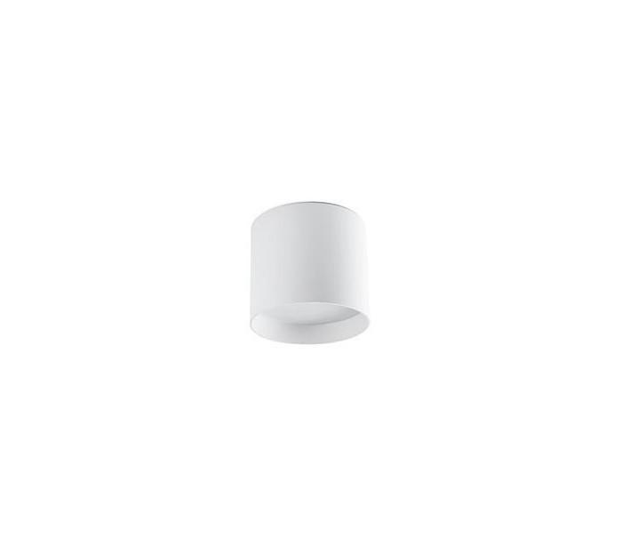 Påbygningsspot i aluminium Ø15 cm 1 x 30W LED – Hvid fra Faro Barcelona